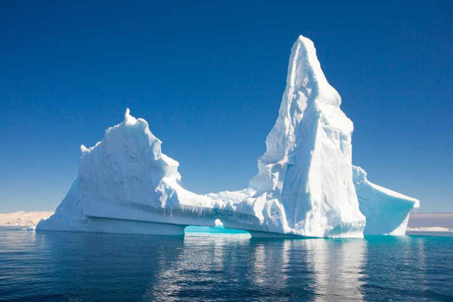 南大洋的冰山
